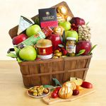 Custom Fruit and Cheese Fall Gourmet Bounty