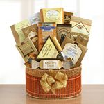 Custom Golden Delights Gift Basket