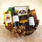 Custom Kenwood Duo Wine Celebration Gift Basket
