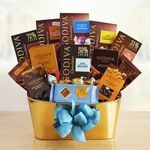 Custom Godiva Chocolate Treasures Gift Basket