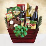 Custom Wine Country Bounty Gourmet Gift Basket