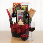 Custom Uncork the Jingle Holiday Welcome