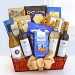 Custom Wine Cellar Celebrations Gift Basket