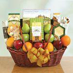 Custom Fruits Galore Gift Basket