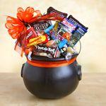 Custom Halloween Cauldron of Chocolate Treats