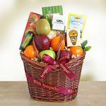 Custom Caring Kindness Gourmet Fruit Basket