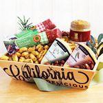 Custom Artisanal Cheese and Salami Crate
