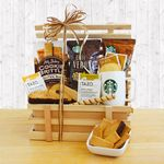 Custom Country Coffee Crate Basket