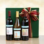 Custom Delicious Vineyard Selections Gift Box