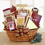 Custom Munchies Galore Gift Basket
