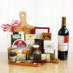 Custom Wine & Cheese Cutting Board Gourmet Gift
