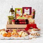 Custom Ultimate Meat & Cheese Wooden Gift Crate