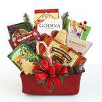 Custom Seasons Snackings Gift Basket