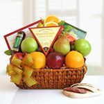 Custom Fruits Abound Gift Basket