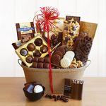 Custom Chocolicious Sampler Gift Basket