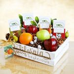 Custom Fruit and Nuts Gift Crate