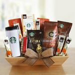 Custom Starbucks Fireside Delights Gift Crate