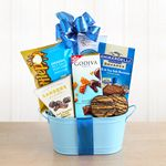 Custom Carmel by the Sea Salt Chocolate Gift Basket