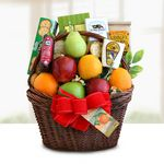 Custom Gourmet Fruit Gift Basket