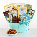 Custom Caring Celebration of Sweets Gift Tub