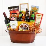 Custom Get the Party Started Gift Tub