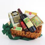 Custom Cheers! California Wine Gift Basket