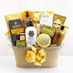 Custom Chamomile Relaxation Spa Basket