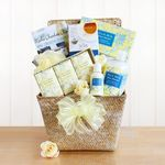 Custom Fresh Milk and Shea Butter Spa Gift Basket