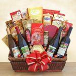 Custom California Splendor Gift Basket