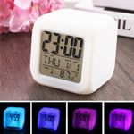 Custom Color Change Digital Alarm Clock