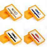 Custom Pen and Keychain Gift Set