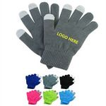 Custom Touch Screen Knit Gloves