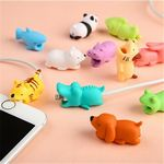 Custom Cute Animal Cable Protector Charger Saver