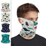 Custom Back to School Youth Face Mask Kids Neck Gaiter