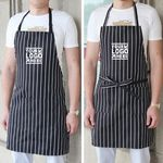 Custom Striped Apron