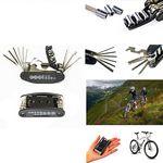 Custom 16 in 1 Multi-Function Bicycle Mechanic Repair Tool