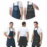 Custom Denim Work Apron with Pockets