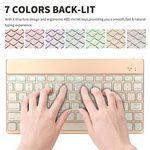 Custom 7 Colors Backlight Chargeable Keyboard