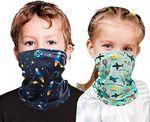 Cooling Kids Youth Neck Gaiter Reuseable Face Mask