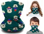 2-Layer Reusable Youth Face Mask Kids Neck Gaiter