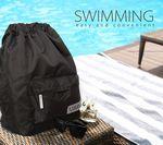 Custom Nylon Dry/Wet Duffle Backpack