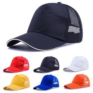 514ae82b42315 Promotional Unstructured Cotton Mesh Back Cap Trucker Cap - CJMC12 -  IdeaStage Promotional Products
