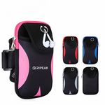 Multi functional Outdoor Sports Water Resistant Neoprene Cellphone Armband