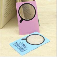 3 Times Portable PVC Card Magnifier