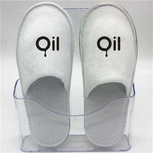 366379384 Disposable Waffle Close-toe Hotel Slipper - LHFF19 - IdeaStage Promotional  Products