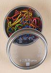 Cow Shaped Originality Chinese Zodiac Metal Clip Tin