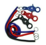 Bungee Cord/Keychain w/Lobster Clasp