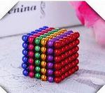Custom Six Colors 5 mm 216 pcs Magnet Bucky Balls