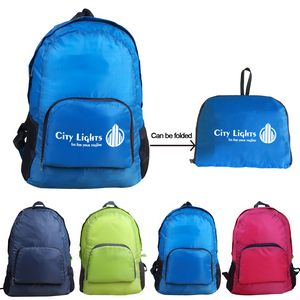 Lightweight Nylon Foldable Backpack - LMFB01 - IdeaStage Promotional  Products b3a859fbfc5b0
