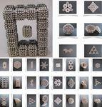 Custom 3 mm 216 pcs Silver Magnet Building Balls